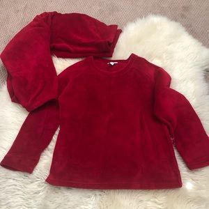 Red pj size M charter club